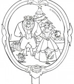 coloriage noel disney 004